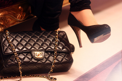 Chanel handbag quilted