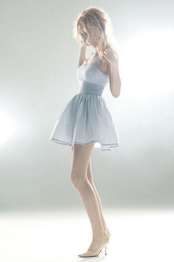 Bettina Liano summer 2010 Gingham Bow Dress