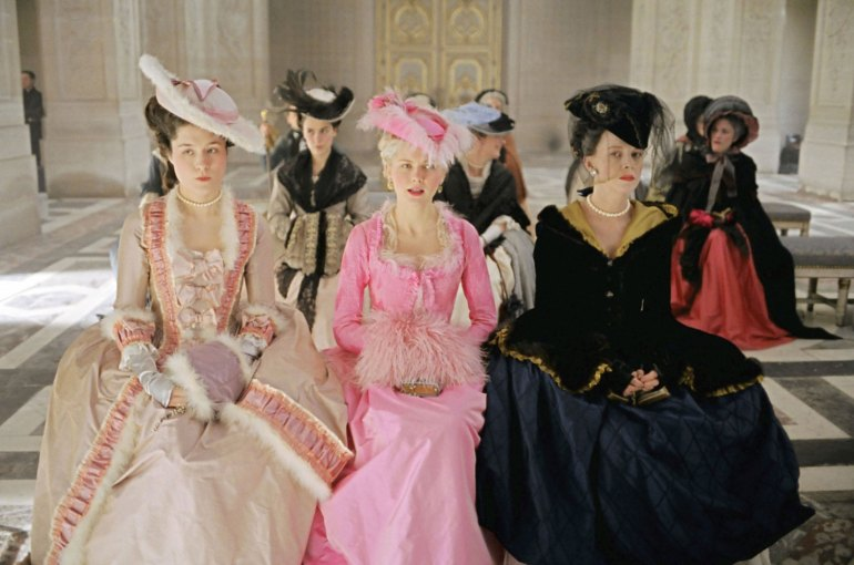 bright pink Marie Antoinette Dress
