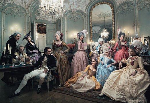 Vogue Photoshoot Marie Antoinette