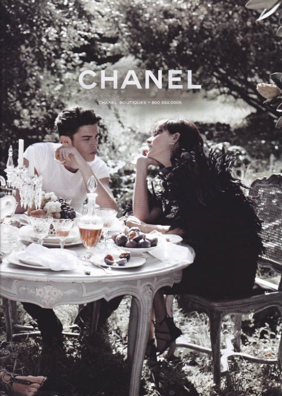 Chanel 2011 magazine advertisement Spring-Summer 2011 teaparty