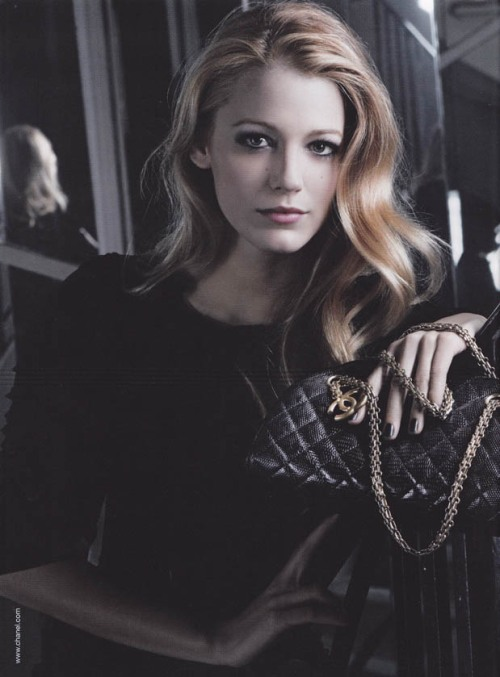 Chanel Blake Lively by Karl Lagerfield Mademoiselle Handbag Collection