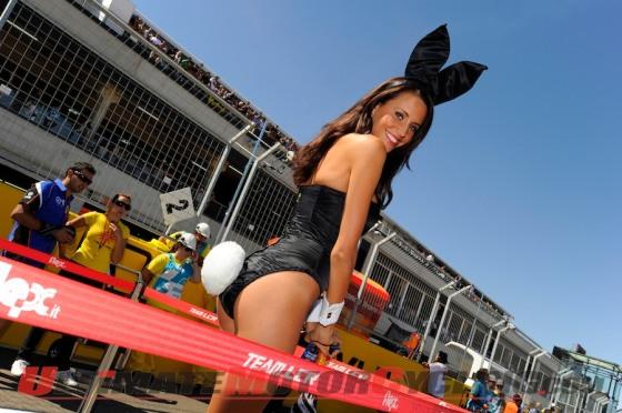 lauren vickers playboy bunny Randy De Puniet