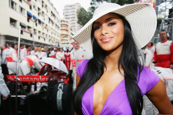 Monaco GP Nicole Scherzinger F1 Formula 1