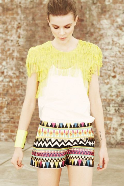 Sass & Bide - The Winning Day collection - coming back short and deluded caplet