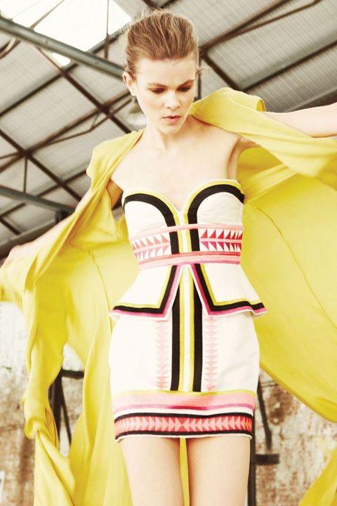 Sass & Bide - The Winning Day collection - pink n' mix dress