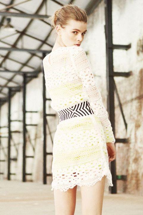 Sass & Bide - The Winning Day collection - walk away dress