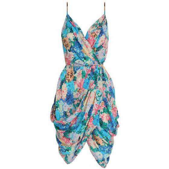 Zimmermann Idyllic Draped Dress $475