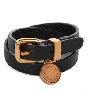 Marc by Marc Jacobs womens jungle wrap leather cuff 115.00