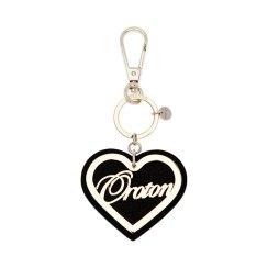 Oroton heart script key fob 55.00