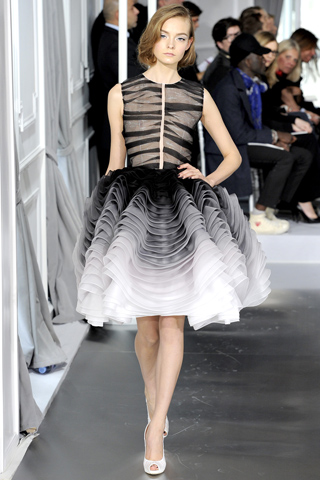 Christian Dior spring 2012 couture ombre