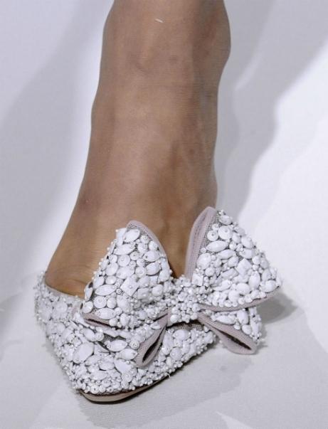 Valentino bow embellished heel