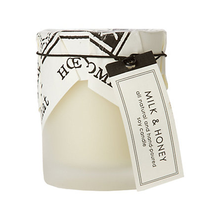 Terrain milk and honey candle