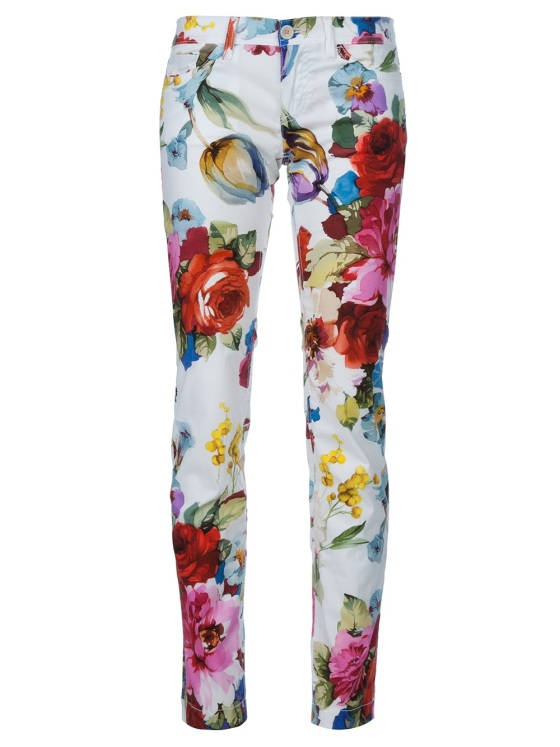 Dolce & Gabana Floral Print Trouser  248Euro