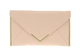 ASOS Metal Bar Detail Envelope Clutch