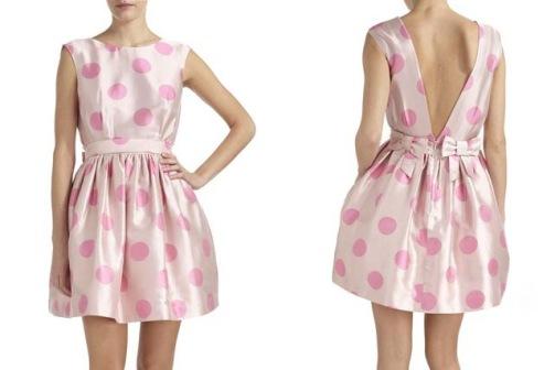 Kerris Dress polka dot bows