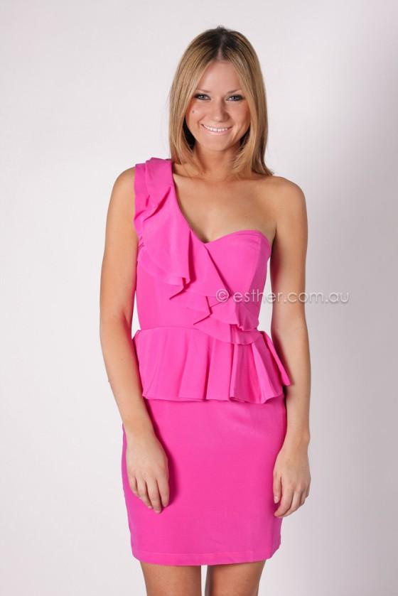 Wish Parlour dress esther boutique pink