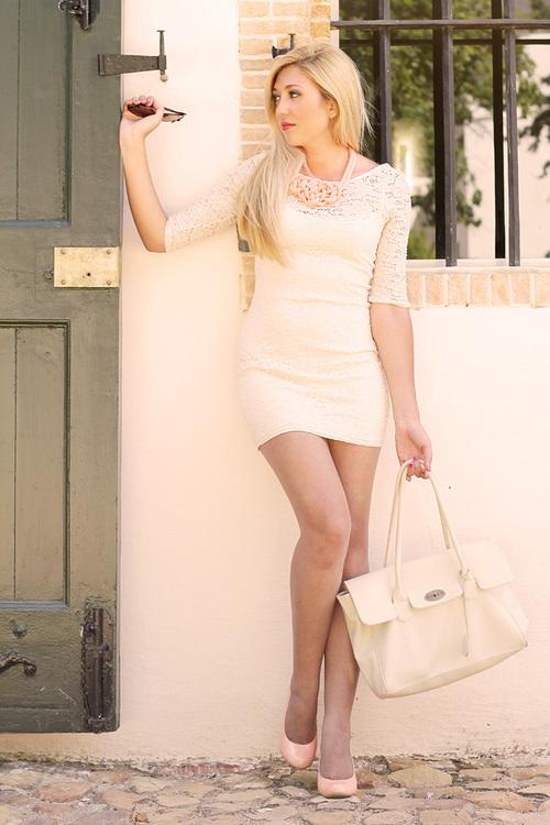 fashion nude outfit blog ladylikei  (1)