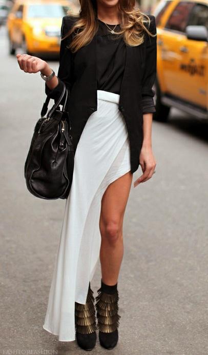 Slit dress fashion ladylikei  whiteblog trend (9)