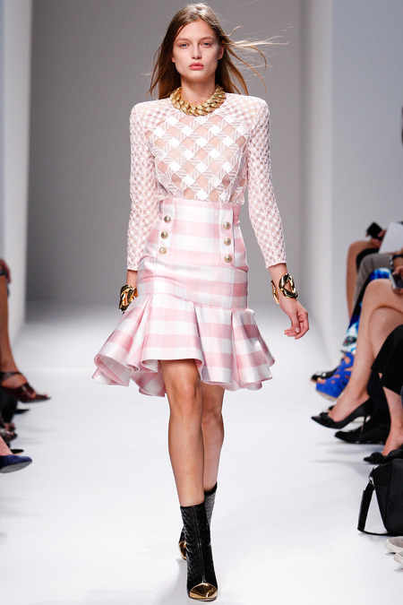 balmain spring 2014 ready to wear 2