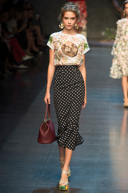 dolce and gabbana spring 2014 ready to wear 2